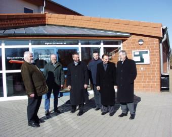 Besichtigung der Gemeinde Sanitz und Gespräche
