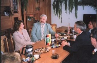 Gespräch der Delegation